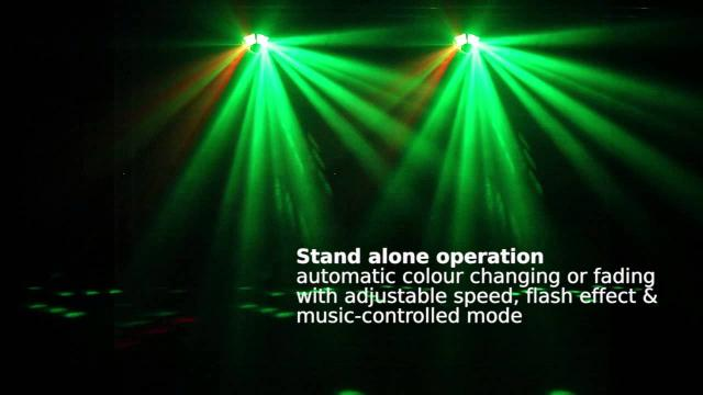 Scanic LED 6 Angle Light DMX