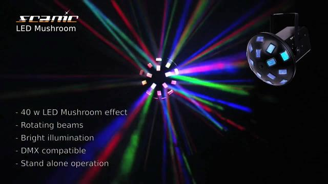 Scanic LED Mushroom