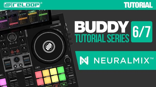 Isolate vocals and beats with Neural Mix™ on the Reloop Buddy DJ controller for djay (Tutorial 6/7)