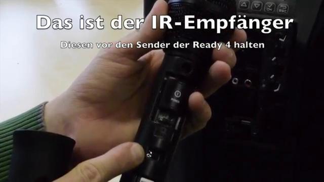 dBTechnologies Ready4 MKII mit HT Ready 4 verbinden