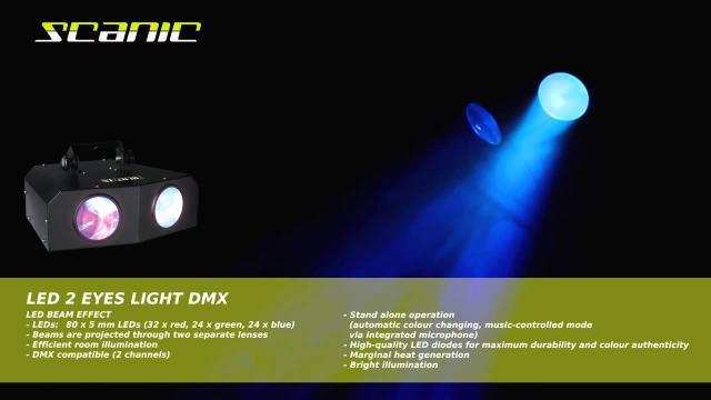 Scanic LED 2 Eyes Light DMX II