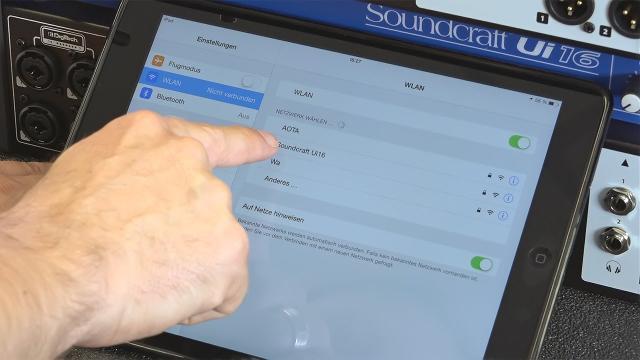 Soundcraft Ui12 / Ui16 – Installation & erste Schritte