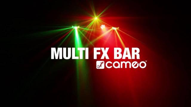 Cameo MULTI FX BAR -  All-In-One Solution with 5 Lighting Effects
