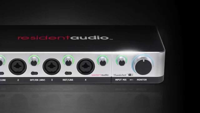Resident Audio T4 Start up video for Windows