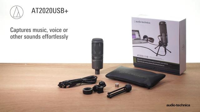 AT2020USB+ Overview | Cardioid Condenser USB Microphone