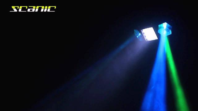 Scanic LED Double Eye Moonflower DMX