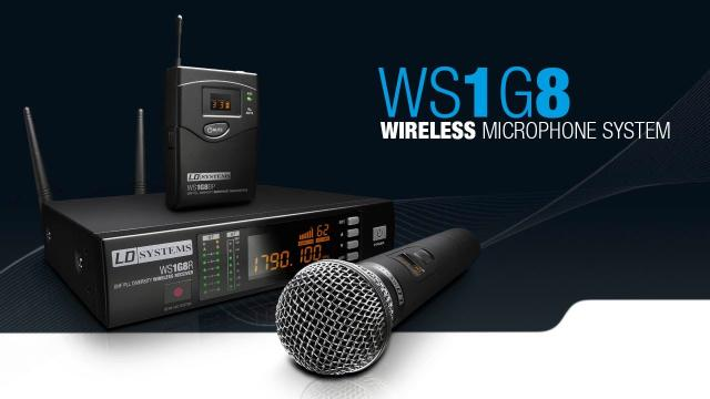 LD Systems  WS 1G8 - Wireless Microphone System