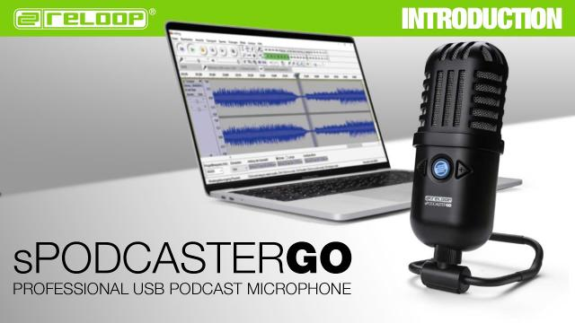 Reloop sPodcaster Go - Professional USB Podcast Microphone (Introduction)