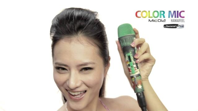 Jammin Pro Color Microphone Mic012 HawaiFeel