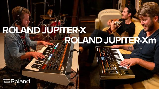 Roland JUPITER-X Series Synthesizers: JUPITER-Xm and JUPITER-X