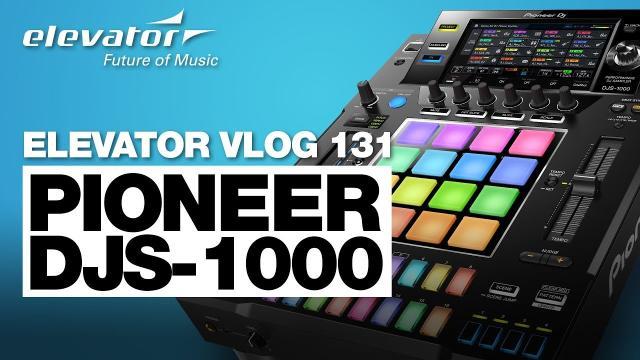Pioneer DJS-1000 - Stand-alone DJ-Sampler - Test (Elevator Vlog 131 deutsch)