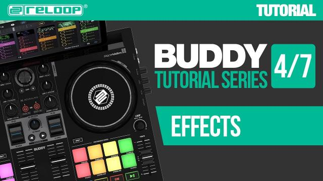 Using DJ effects with Reloop Buddy - a compact controller for djay (Tutorial 4/7)