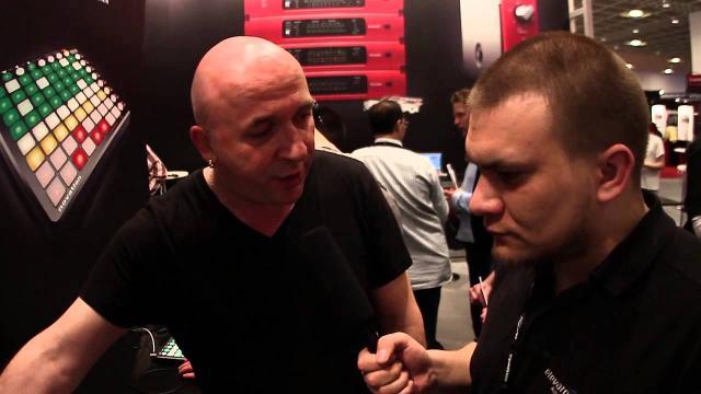 Elevator Vlog - Musikmesse 2013 - Novation Launchpad S
