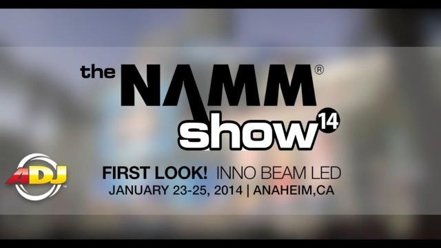 First Look! ADJ Inno Beam LED at NAMM 2014