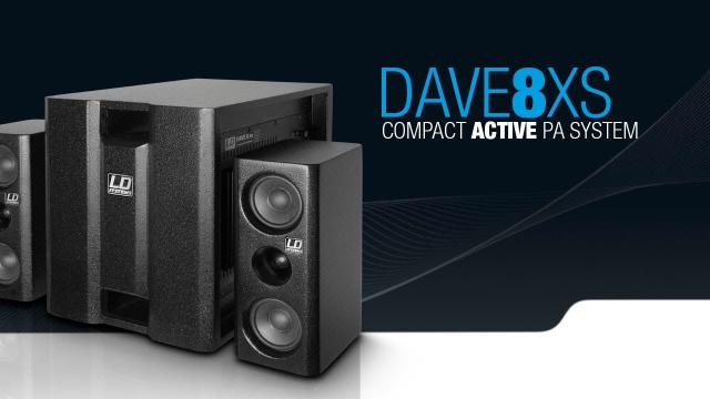 LD Systems DAVE 8 XS - Portable 8