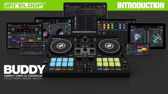 Reloop Buddy Compact 2-Deck djay Controller for all platforms - Overview & Key features