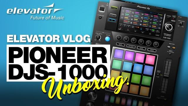 Pioneer DJS-1000 - Stand-alone DJ-Sampler - Unboxing (Elevator deutsch)