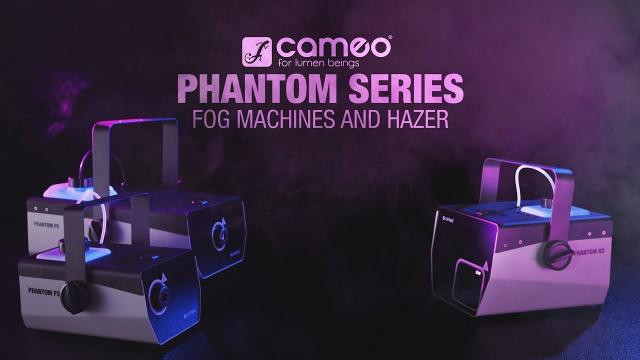 Cameo PHANTOM SERIES - Fog Machines and Hazer