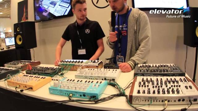 Elevator @ Musikmesse 2015: Arturia Beatstep PRO mit Sounddemo (deutsch & english)