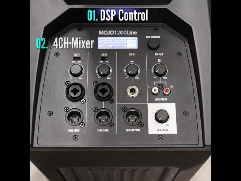 MOJO1200Line - Audiophony - Quick Clip