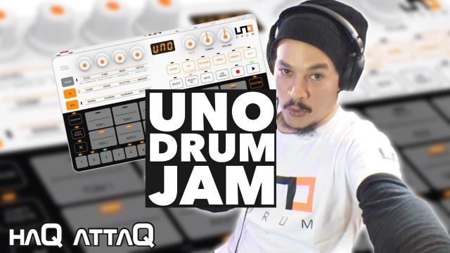 IK Multimedia UNO Drum First Impression Jam   haQ attaQ