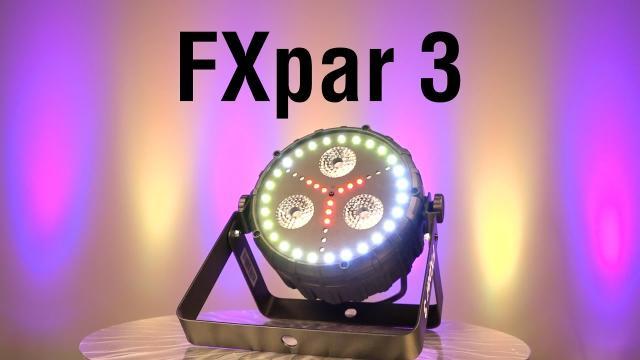 FXpar 3 by CHAUVET DJ