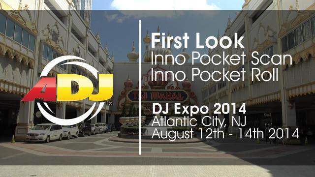 First Look - ADJ Inno Pocket Scan & Inno Pocket Roll