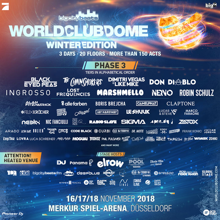 World Club Dome 2018 - Winter Edition