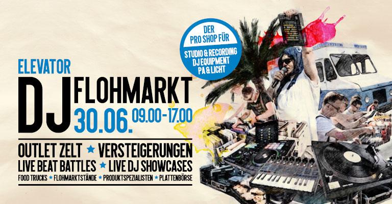Elevator DJ Flohmarkt 2018