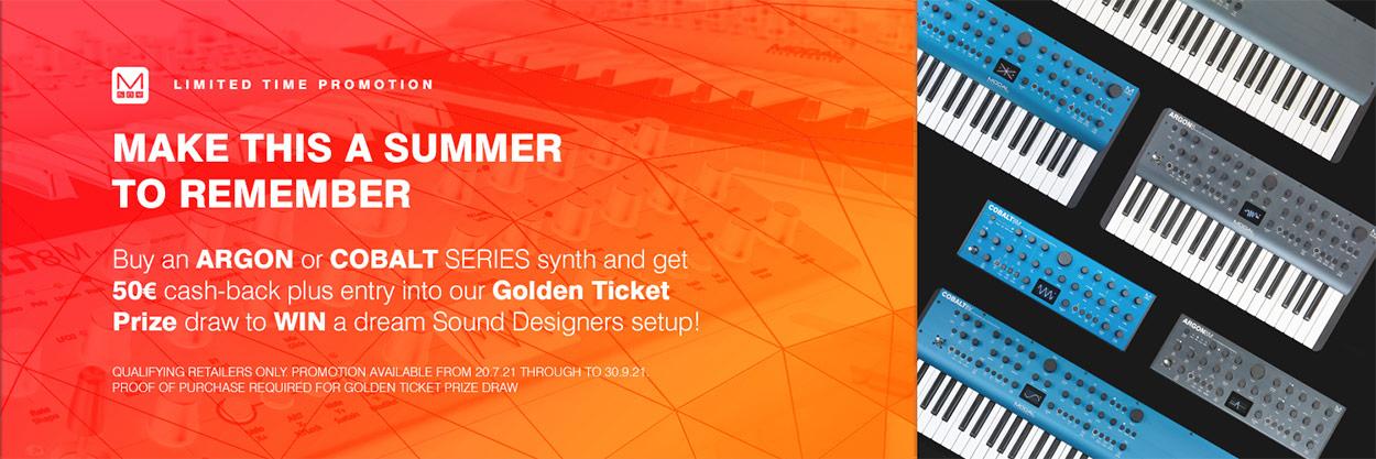 Modal Electronics Sommer-Promotion