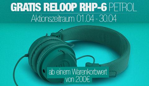 Reloop RHP-6 gratis