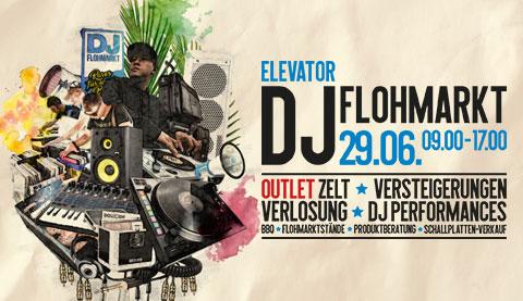 Elevator DJ Flohmarkt 2019