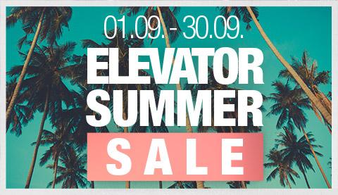 Elevator Summer Sale 2018