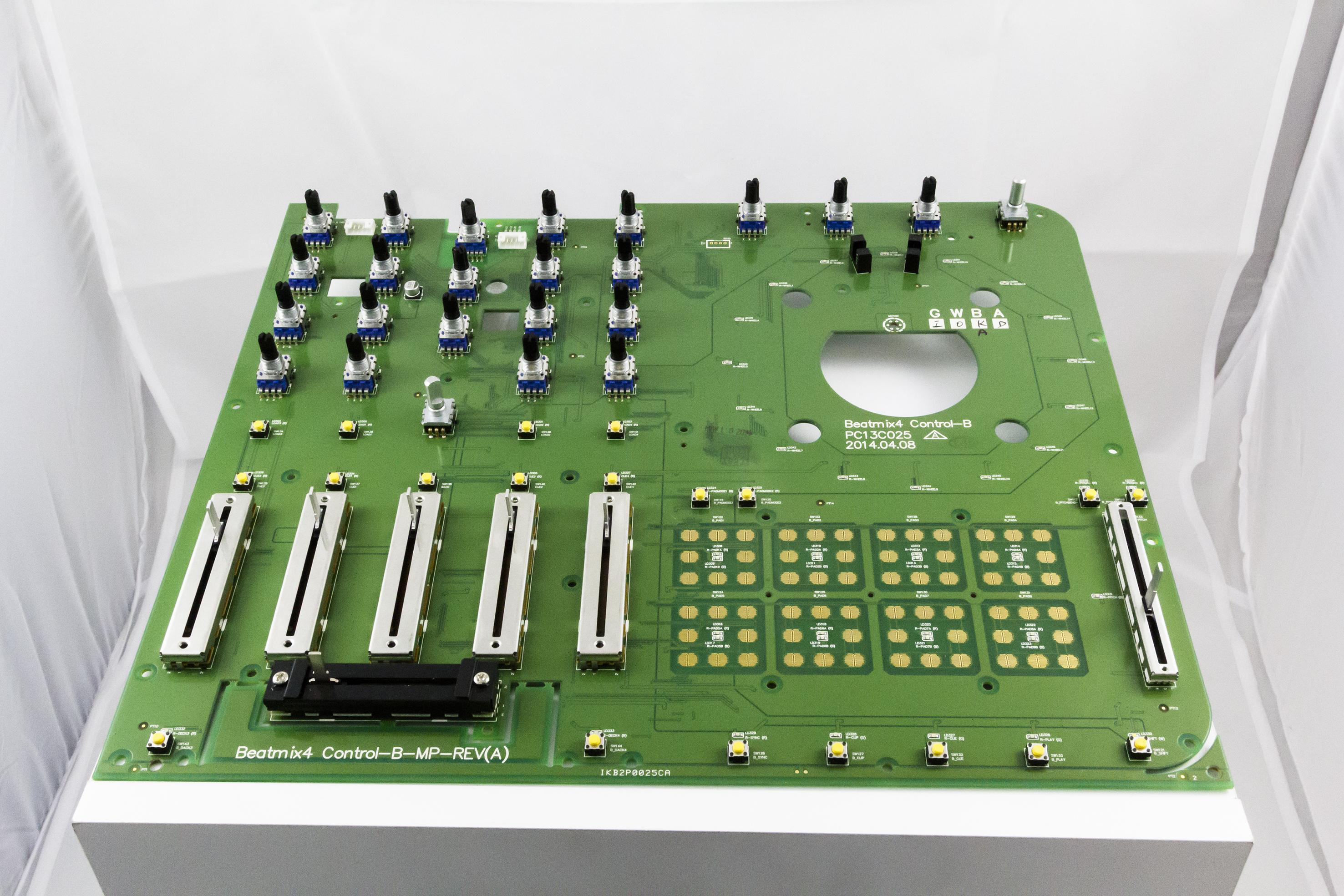Reloop Beatmix 4 mixer pcb b (right) 233928