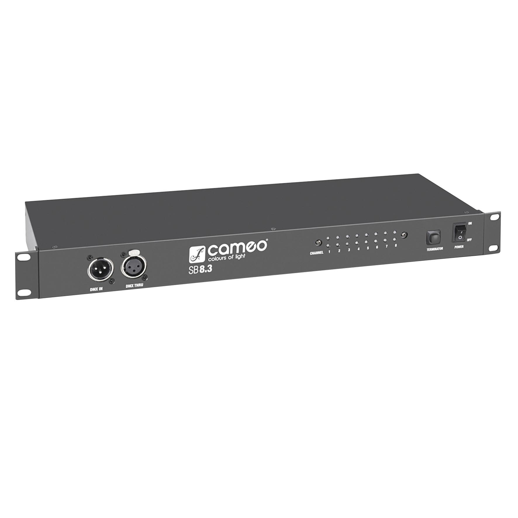 Cameo SB8.3 8-Kanal DMX Splitter / Booster (3-Pol) 234988