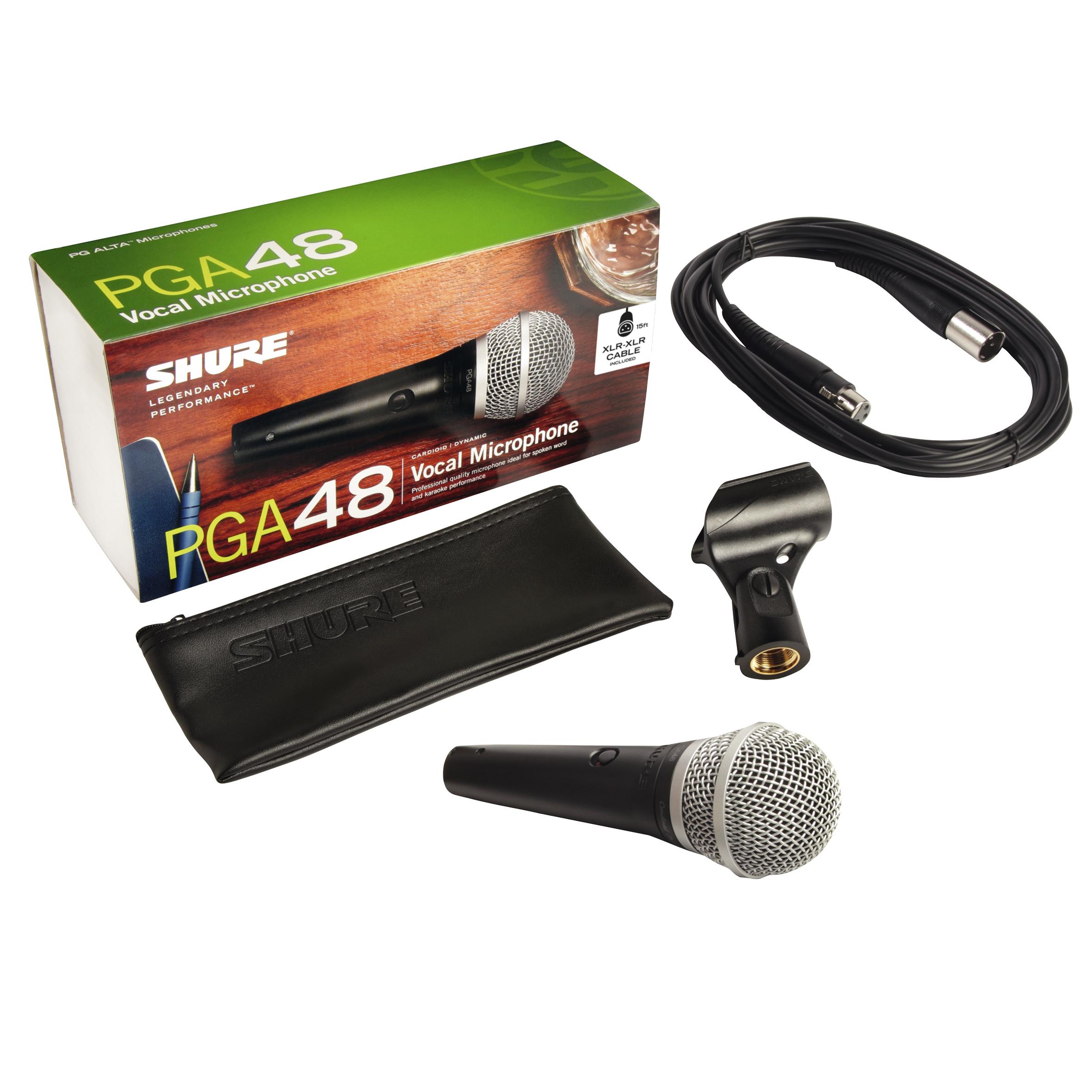 Shure PGA 48 XLR inkl. XLR-Kabel 235409