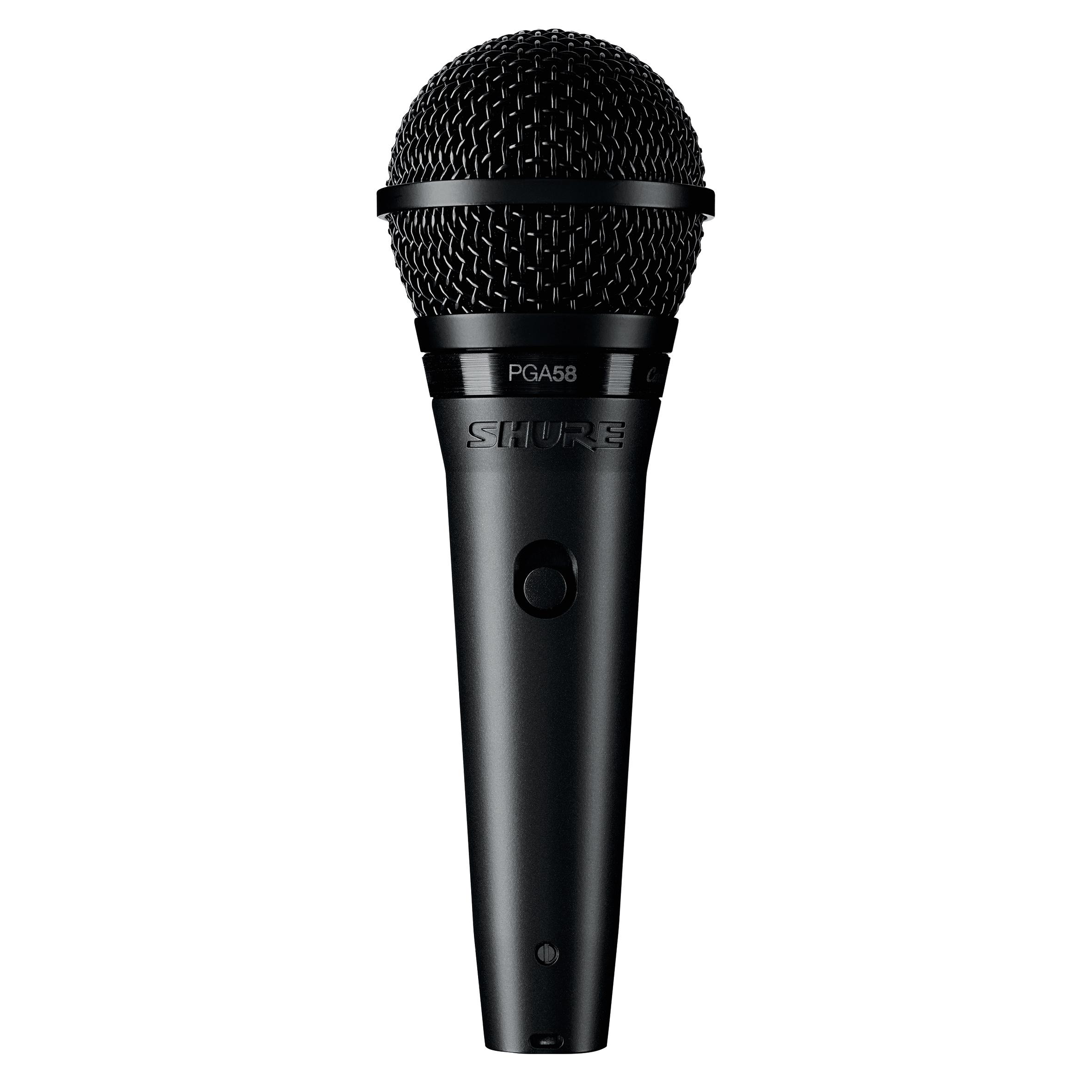 Shure PGA 58 BTS inkl. XLR-Kabel + Mikrofonständer 235411