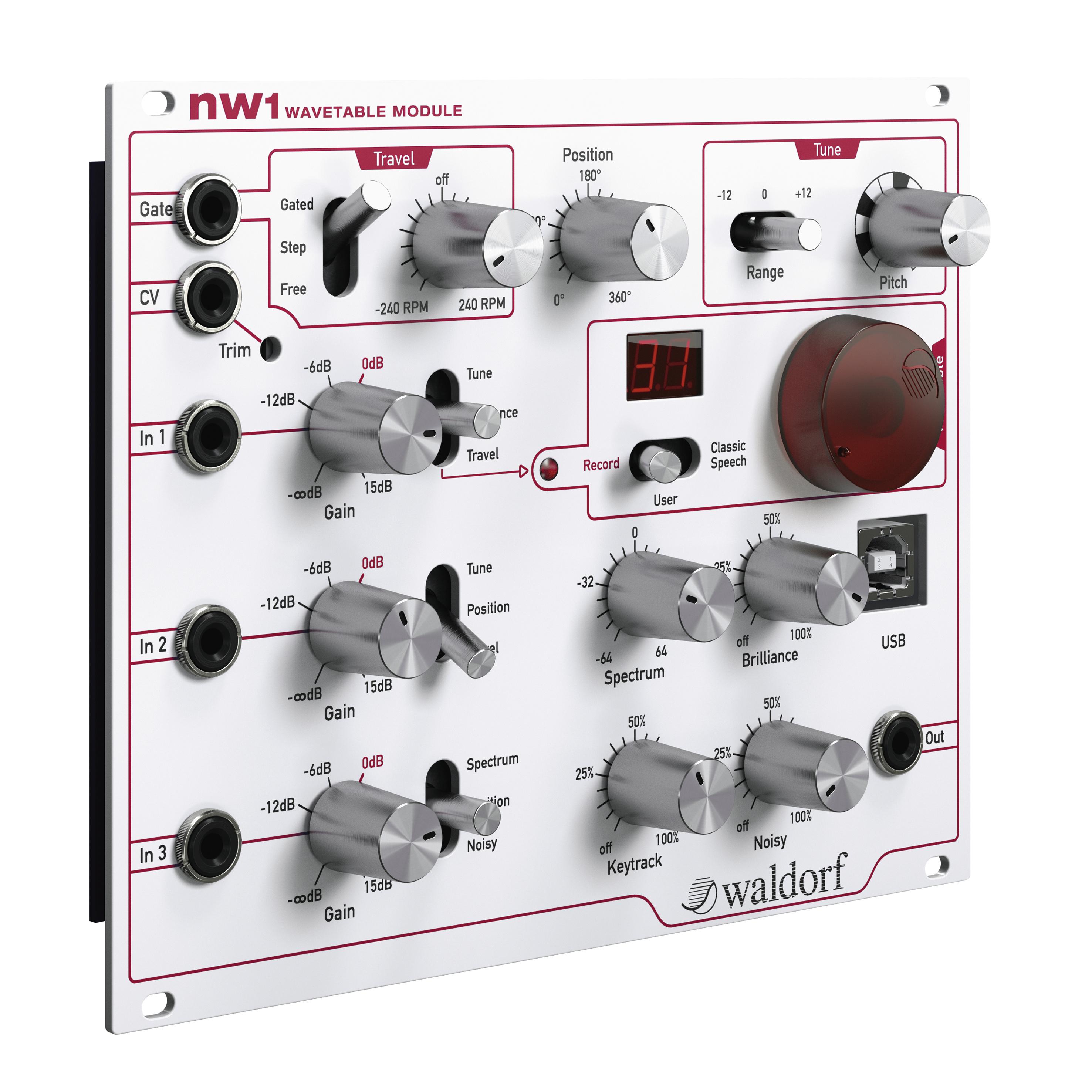 Waldorf nw1 Module
