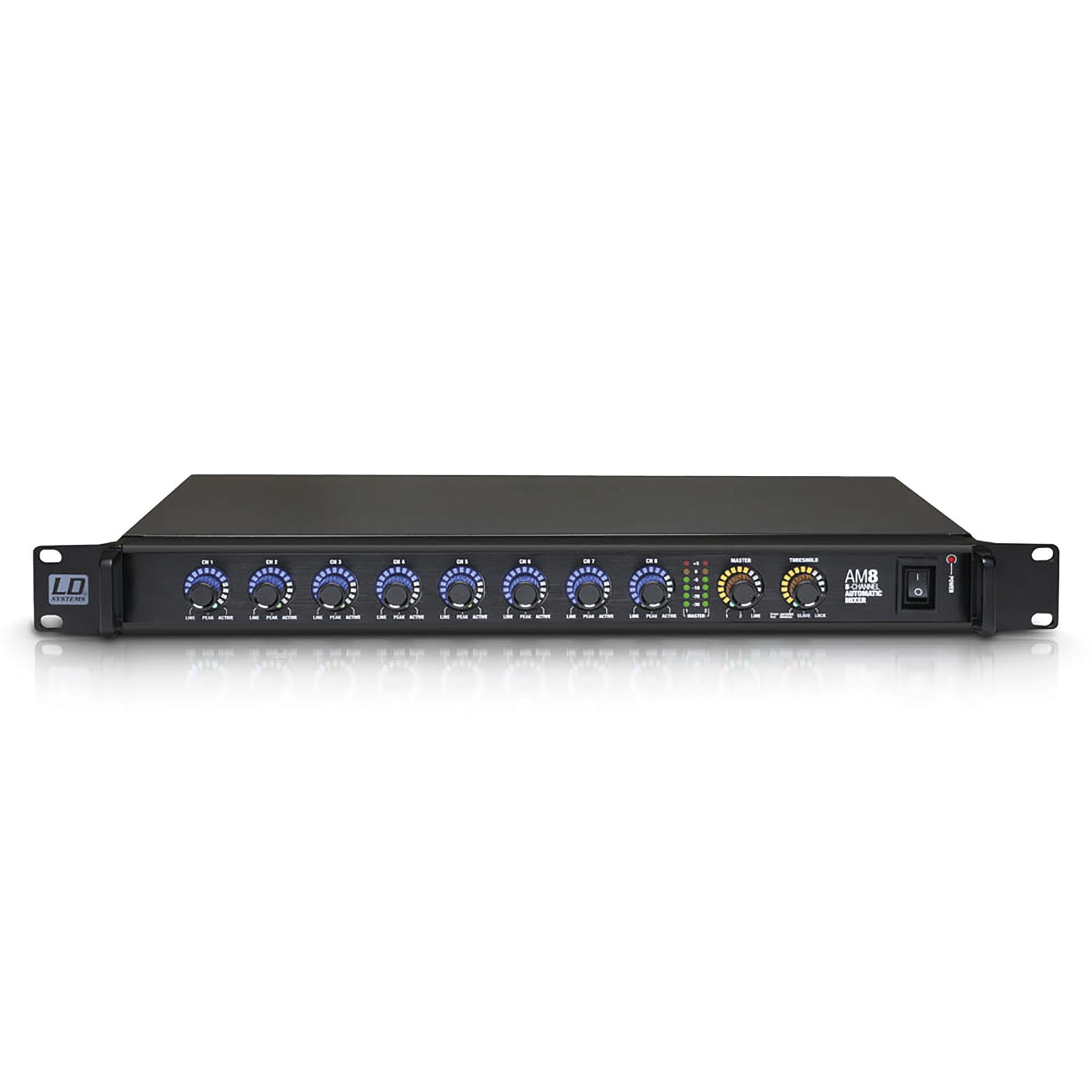 LD Systems AM 8 Automatischer 8-Kanal-Matrixmixer 236359