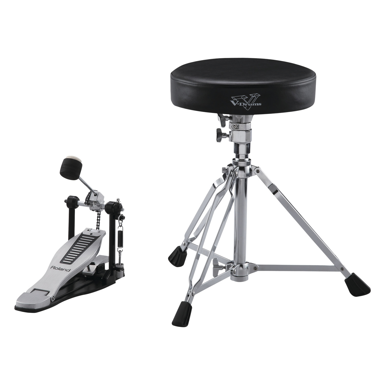Roland DAP-3X V-Drums Zubehör-Kit bestehend aus Drum-Hocker, Drum Sticks, Kickpedal 236779