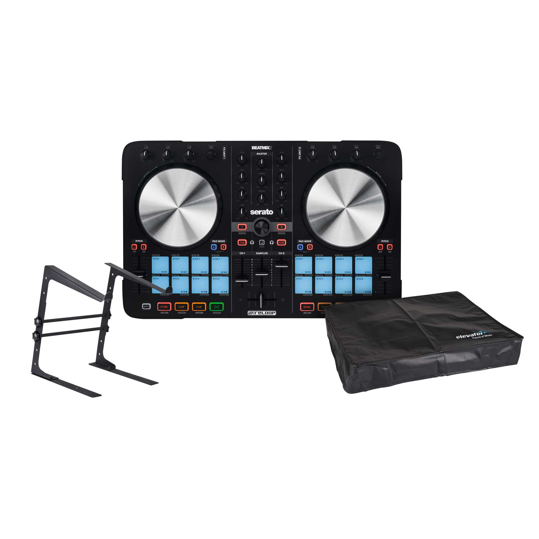 Reloop Beatmix 2 MKII + Laptopstand + Cover 237184