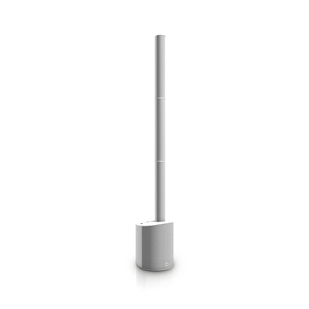 LD Systems MAUI 5 W Ultra portables Säulen PA System mit Mixer weiß 237781
