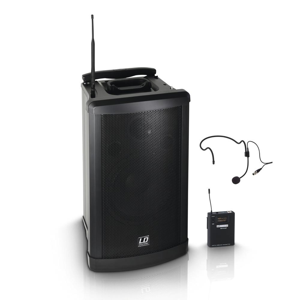 LD Systems Roadman 102 HS B6 Mobiler PA Lautsprecher mit Headset 237834