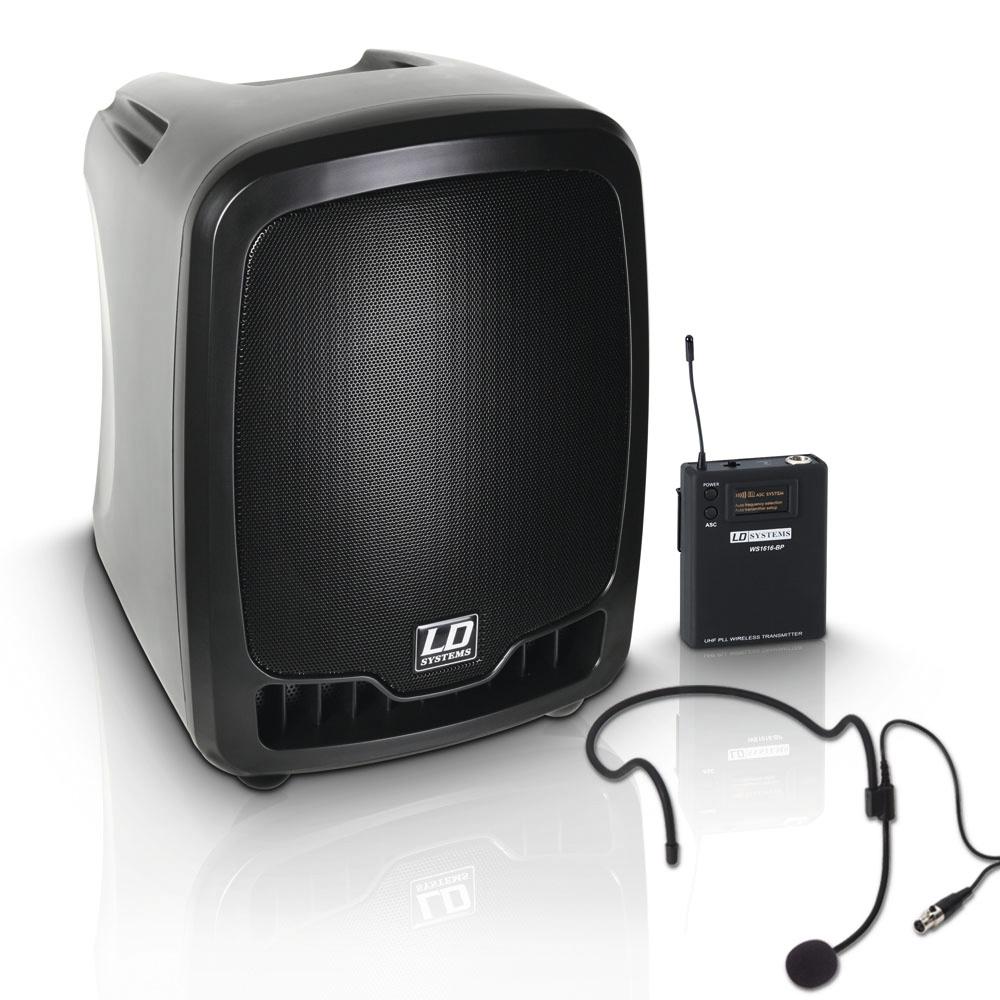 LD Systems Roadboy 65 HS B6 Mobiler PA Lautsprecher mit Headset 237838