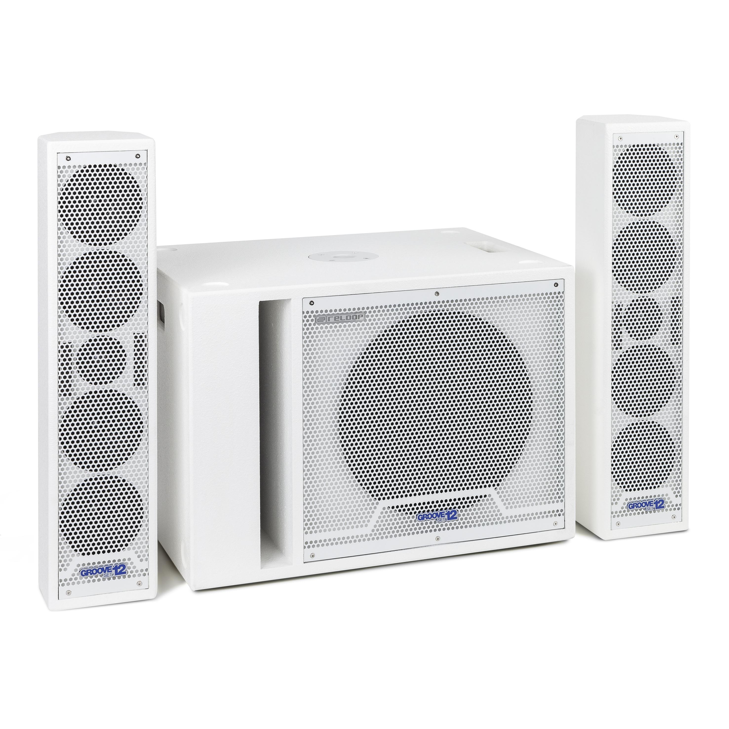 Reloop Groove Set 12 white 238229