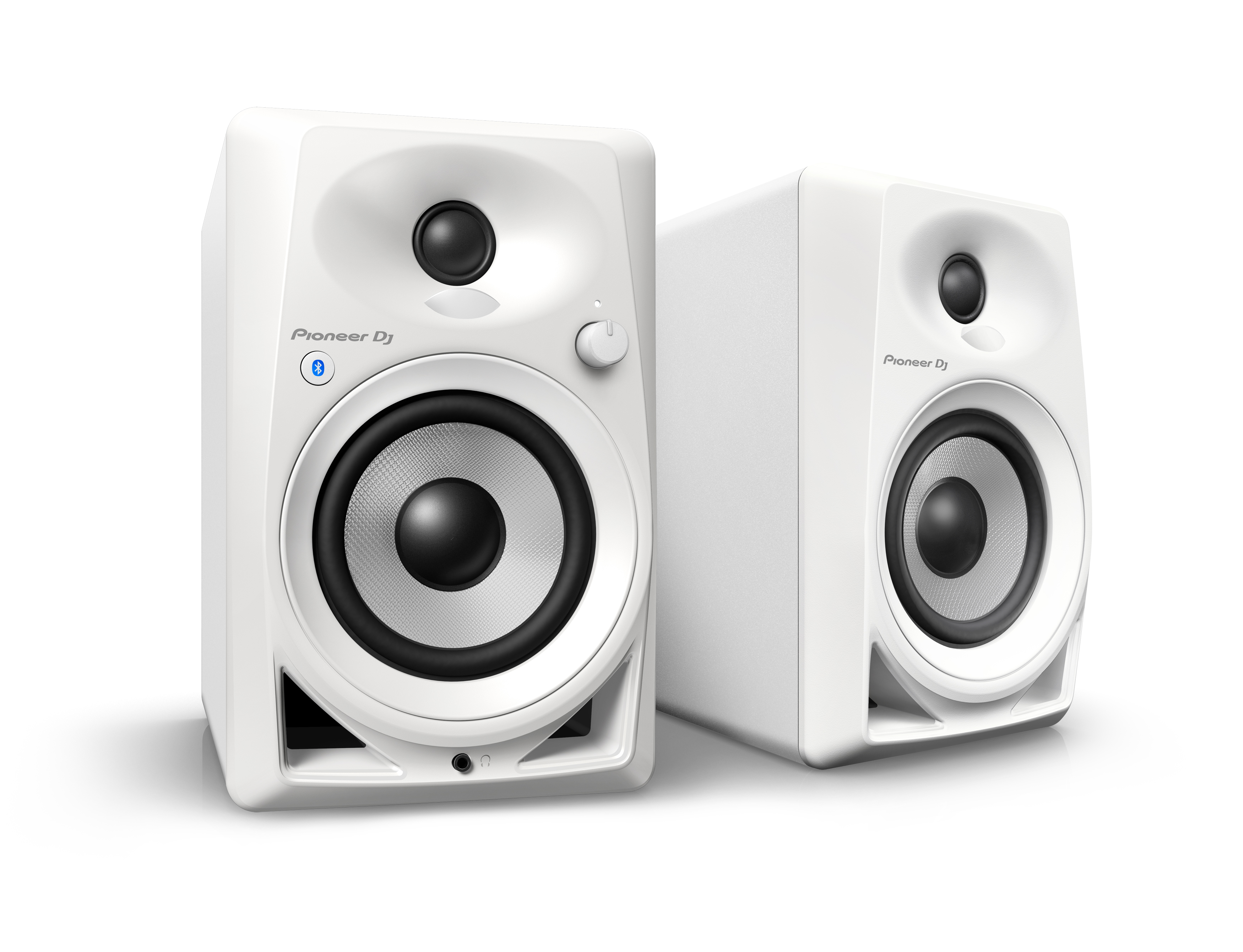Pioneer DJ DM-40BT-W Monitor Speaker mit Bluetooth 240350