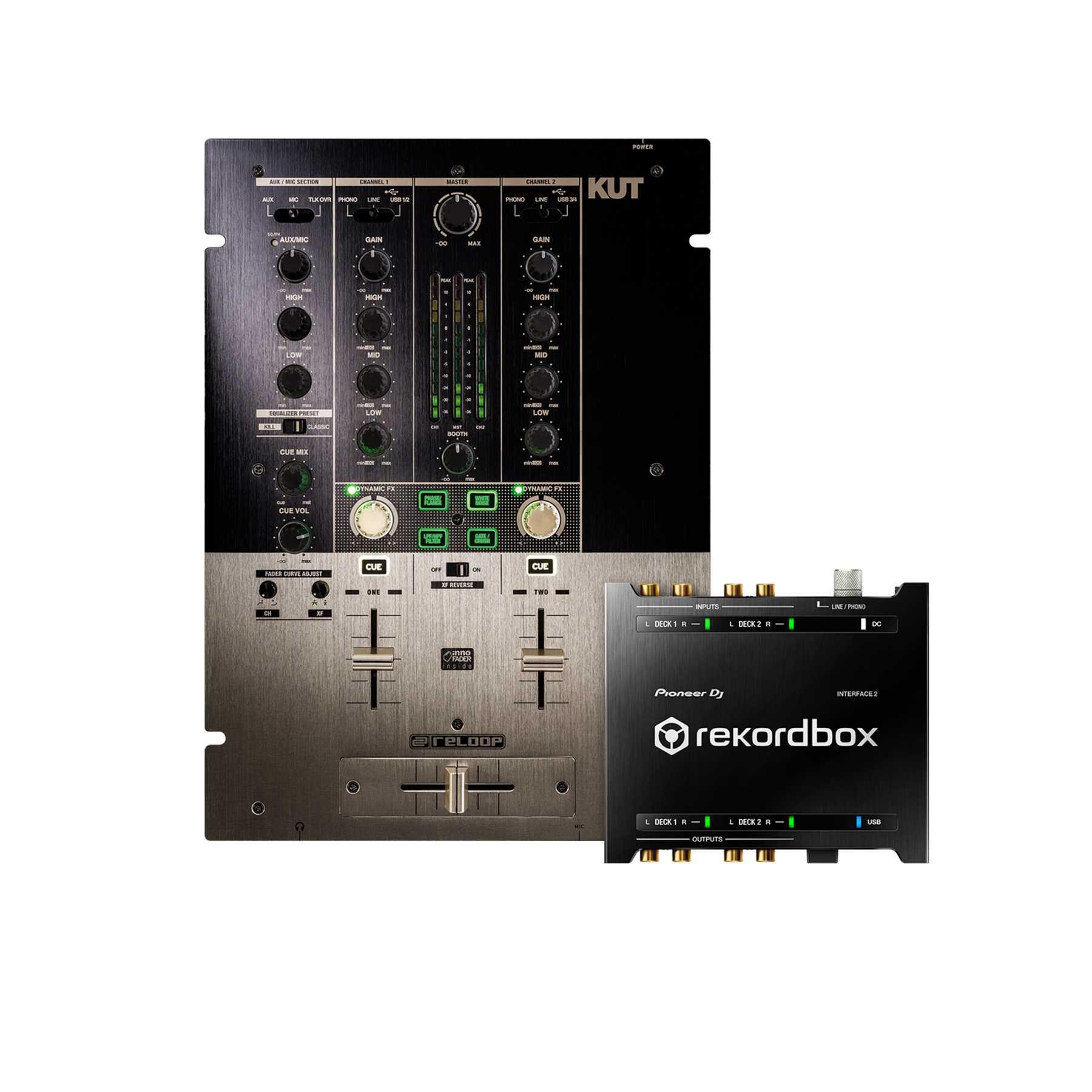 Reloop KUT + Pioneer DJ INTERFACE 2 rekordbox DVS Interface 240727