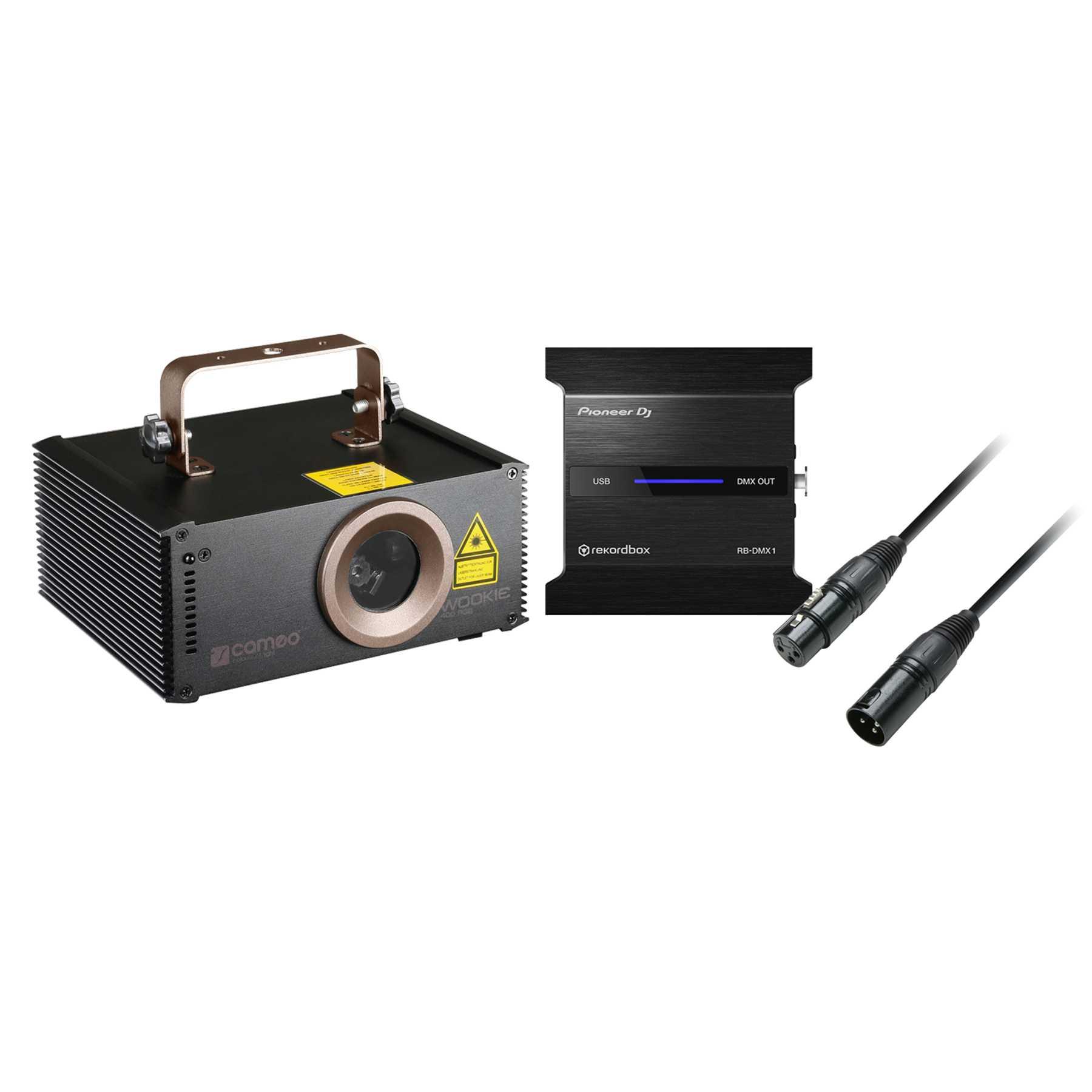 Pioneer DJ RB-DMX1 + Cameo Wookie Laser 400RGB 240735
