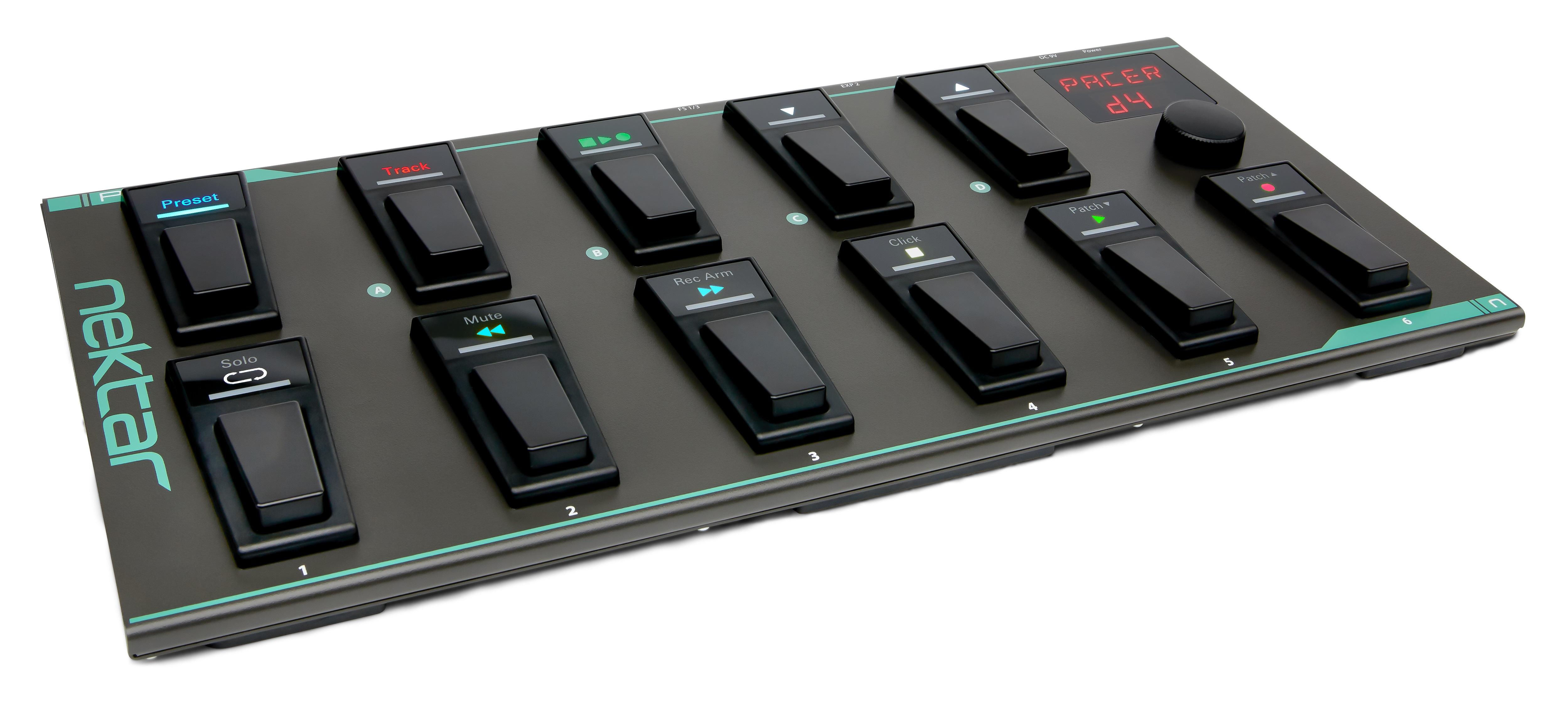 Nektar PACER MIDI DAW Footswitch Controller. 240913
