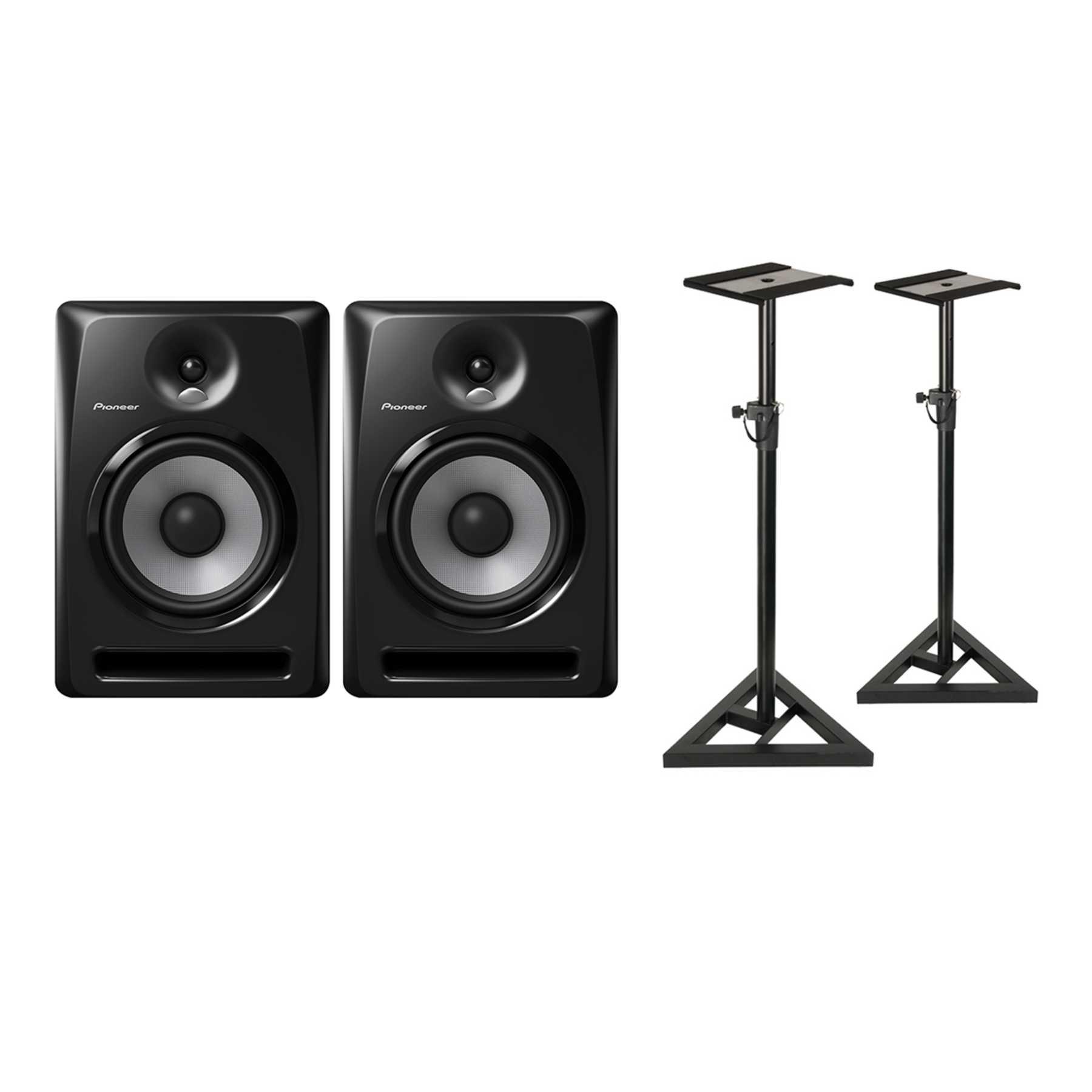 Pioneer S-DJ80X Monitor Stand Bundle 240975